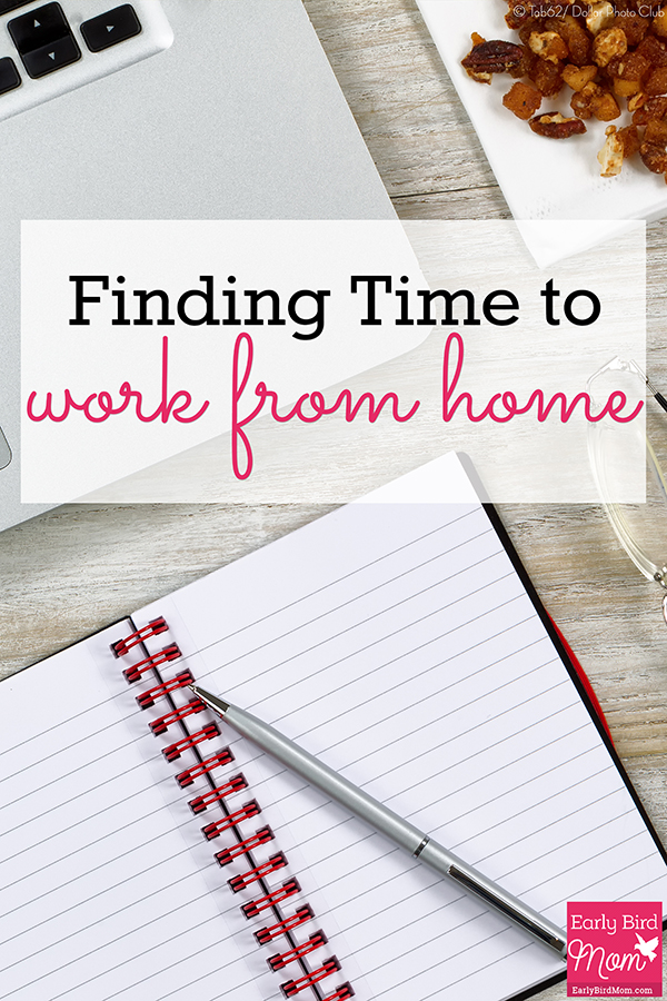 Want to work from home but don't know how you'll find the time? You may have more time than you think. This post offers suggestions that add up to 30+ hours that stay at home moms can work from home.