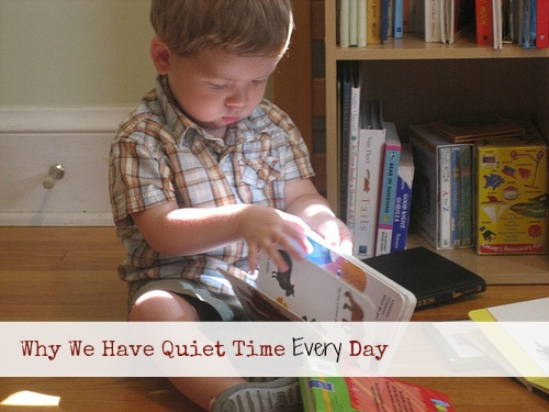 Why We Have Quiet Time Every Day