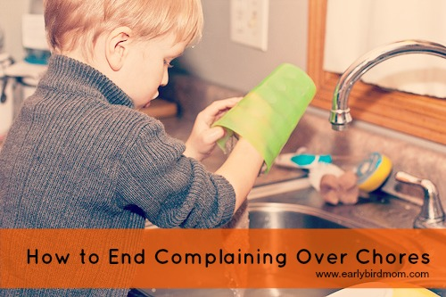 How to End Complaining Over Chores
