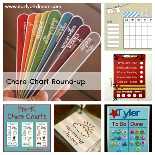 Looking to get your kids to help out around the house more? Chore charts are a great way to keep your kids accountable and (maybe) help them be more cheerful when doing their chores. See this post for some fun and simple ways to create your own chore chart.