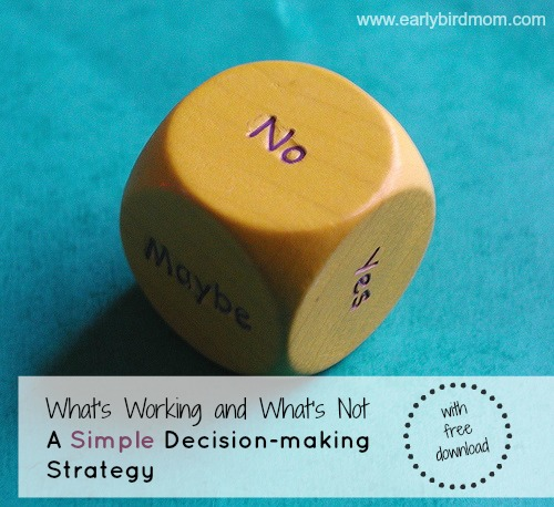 A simple decision-making system