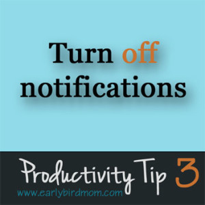 how to turn off webpage notifcations