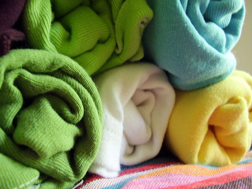 rolled-laundry