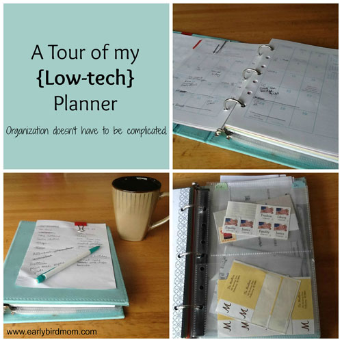 Low Tech Planner Tour
