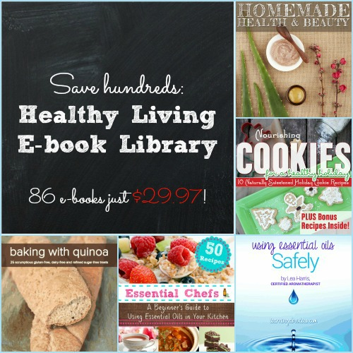 Save Hundreds on a Healthy Living E-book Library