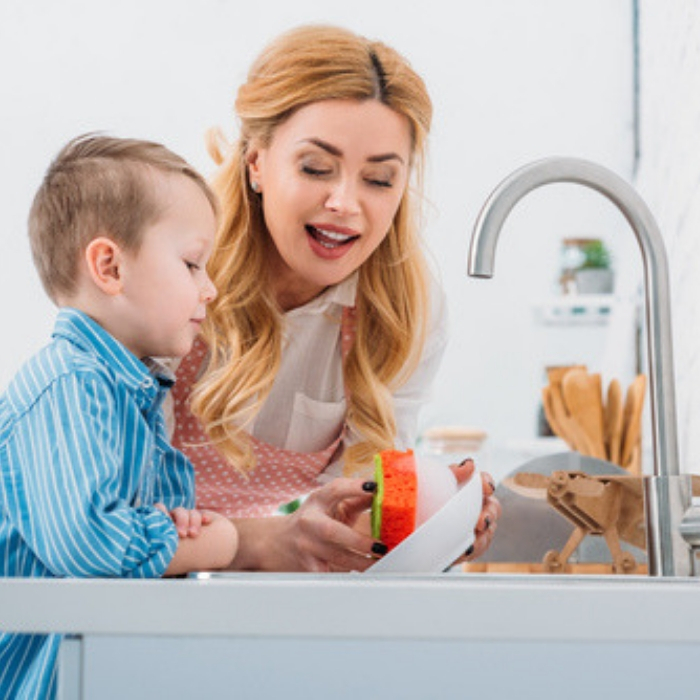 kitchen cleaning checklist for kids