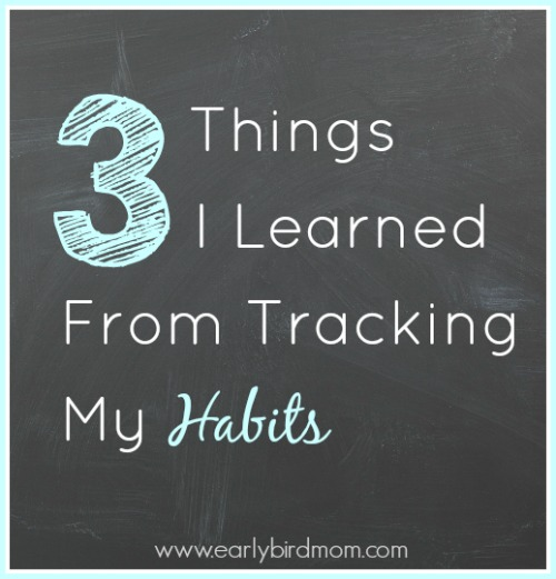 3 Things I Learned from Tracking My Habits