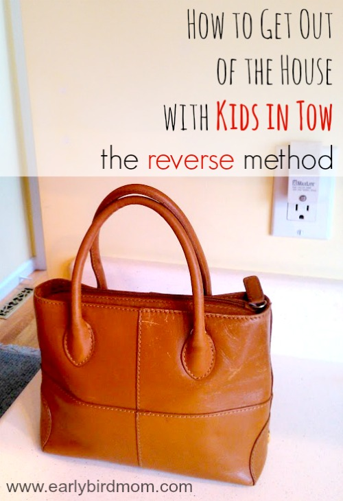 How to Get Out of the House With Kids in Tow: The Reverse Method