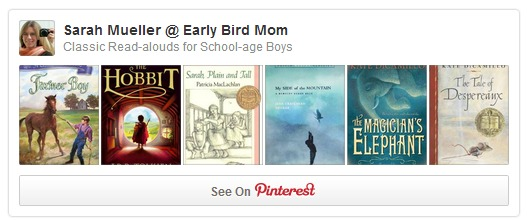 Classic Read-alouds for School-age Boys
