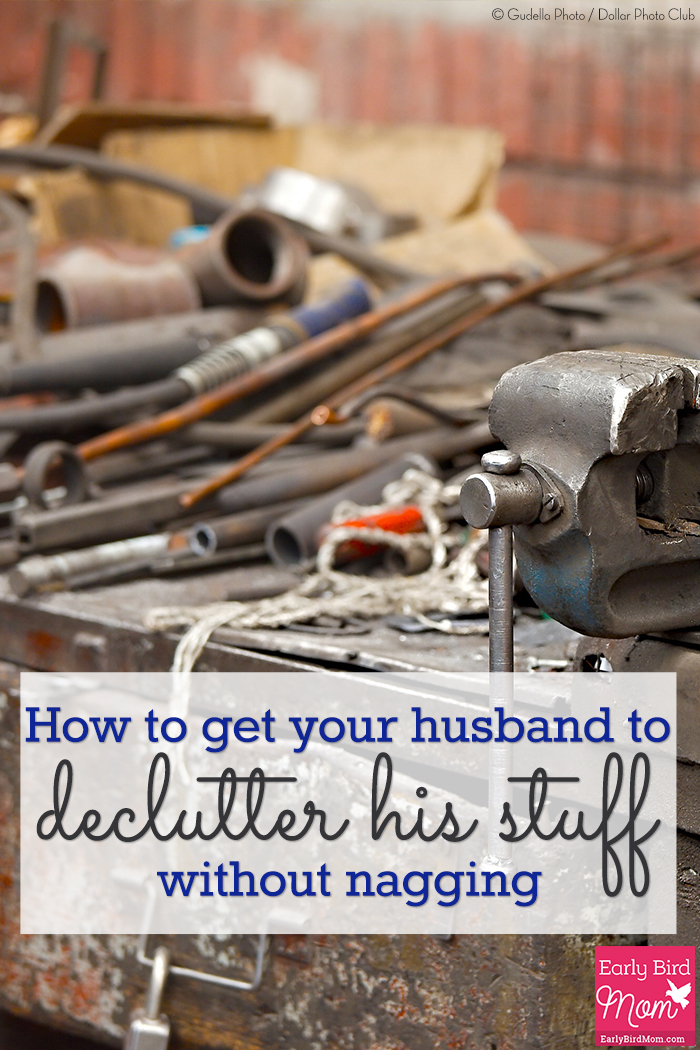 How to get your husband to declutter his stuff for Getting rid of stuff minimalist