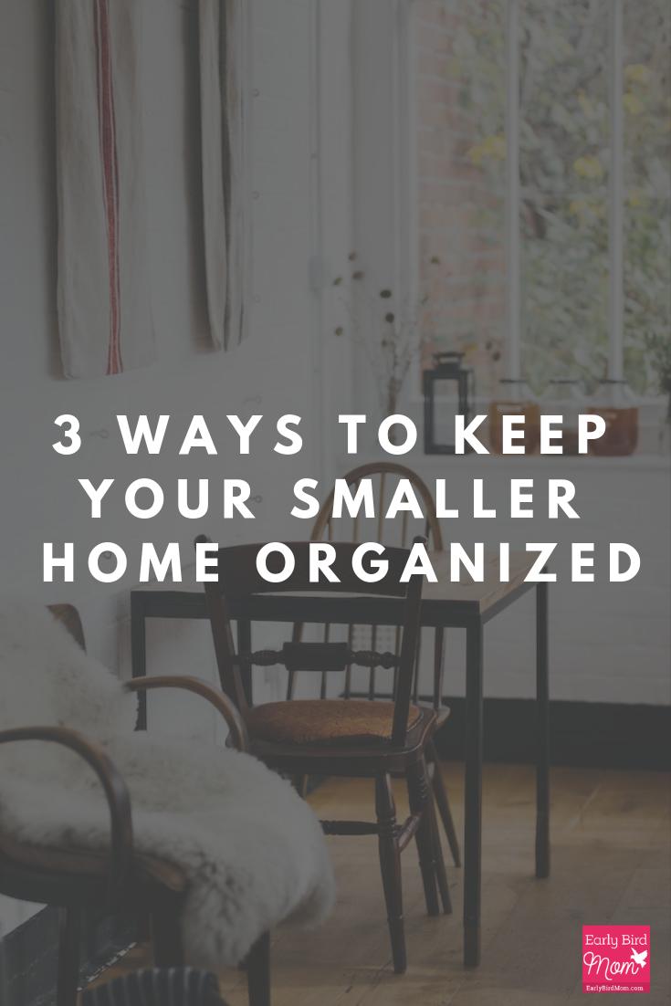 small house organization