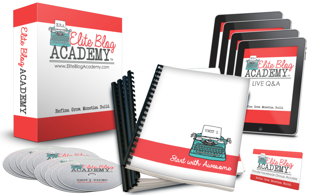 Elite Blog Academy Course Materials
