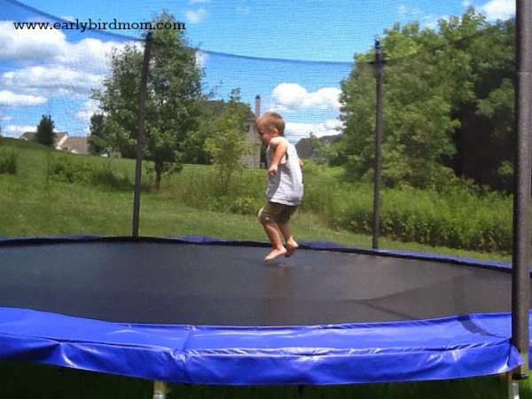 the best gift ever for a boy is undoubtedly a trampoline - Best Christmas Gifts For Kids 2014