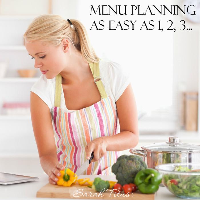 Easy menu-planning