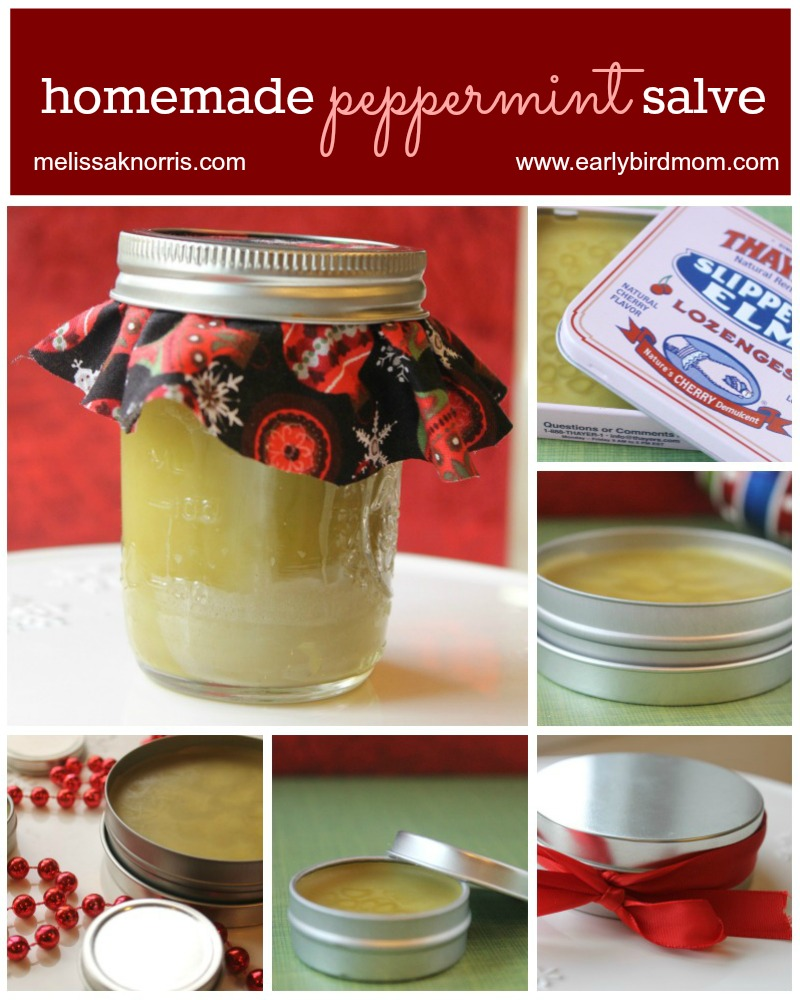 DIY Homemade Peppermint Salve