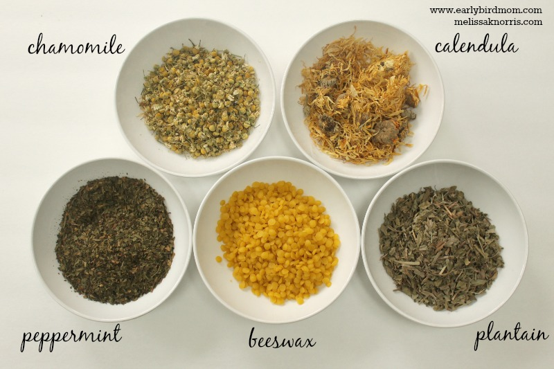 Homemade Salve Ingredients