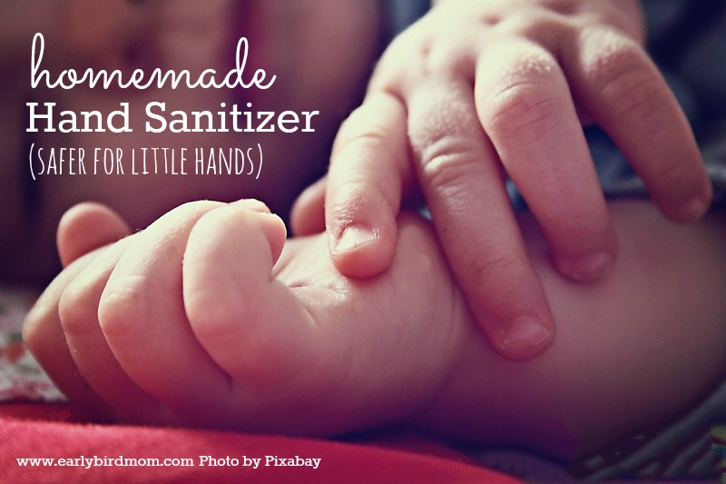 Are you looking for a more natural, kid-safe version of conventional hand sanitizer? This version made with simple, natural ingredients, is easy to make and much safer for little hands (and big ones!)