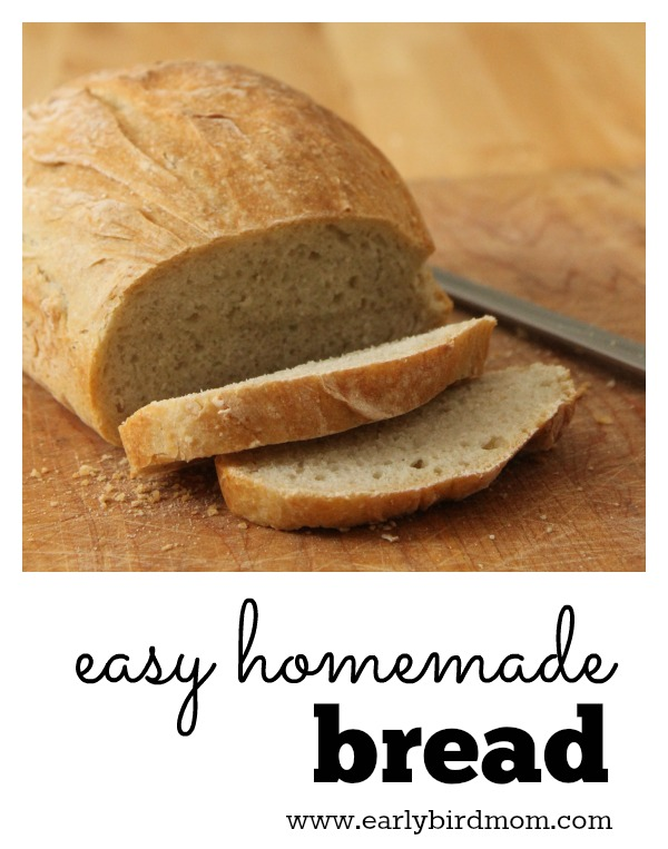 How To Make 4 Ingredient Bread No Knead Recipe Instructions