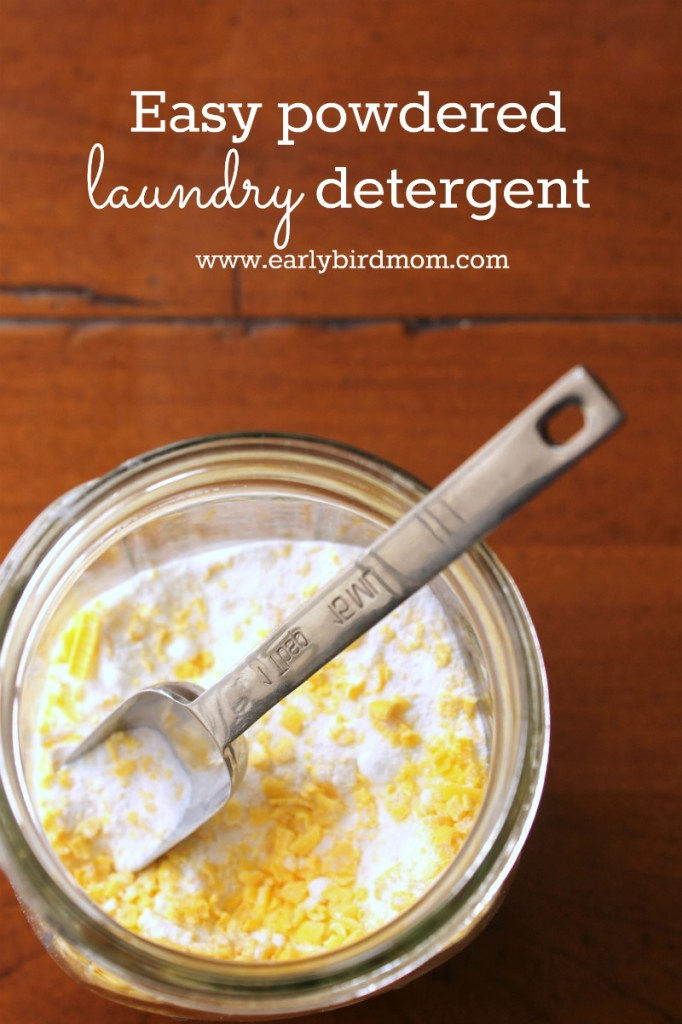 Best homemade laundry detergent recipe