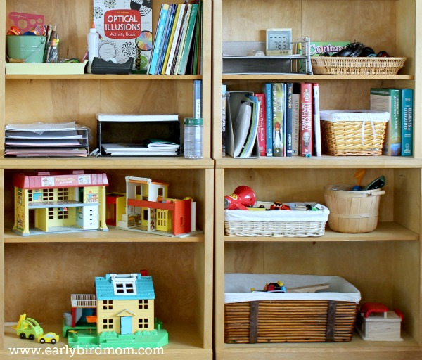 Toy clutter organized 3 brilliant ways for Living room storage for toys