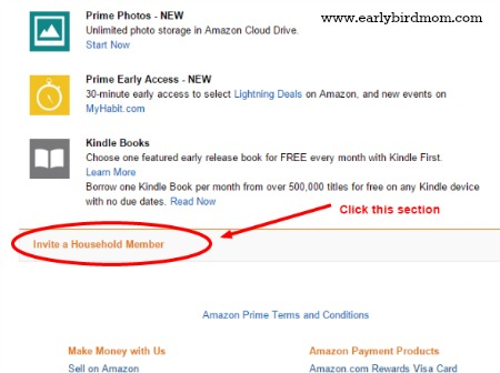 How To Share Amazon Prime Features