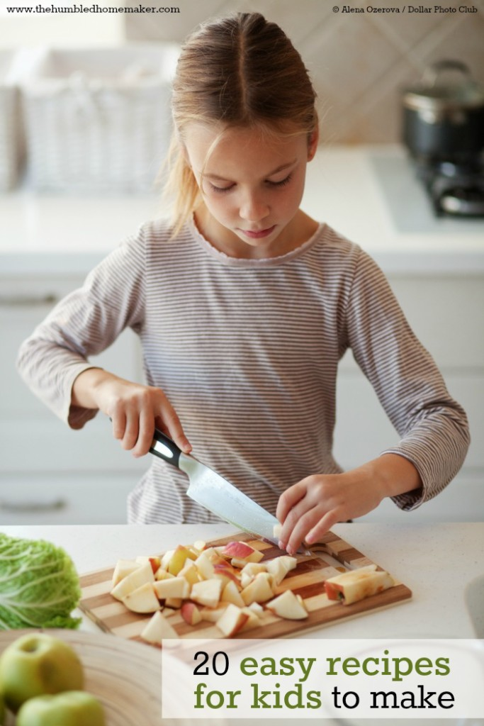 20 easy recipes for kids to make - Fun food to make with kids ...