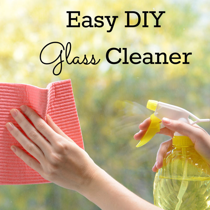 Easy Homemade Glass Cleaner (frugal and non-toxic)