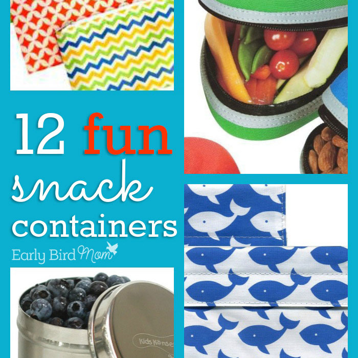 12 super cute and colorful snack containers