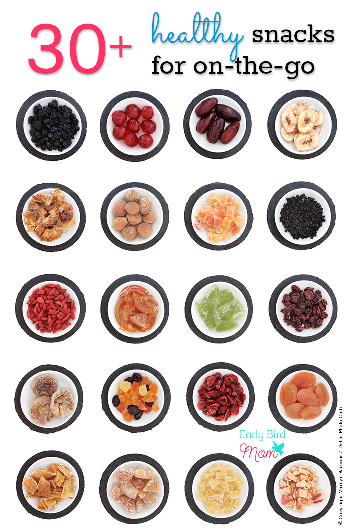 Pack a healthy snack when you're on the go to save money and avoid temptation. With over 30 quick, easy and portable healthy snack ideas (many gluten free and low carb), you'll never run out of ways to stay on track with clean eating.