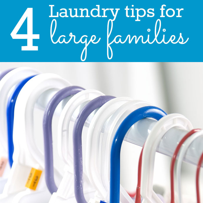 Q&A: How can I make laundry easier with 4 young kids?