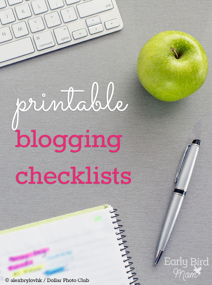 These are sooo helpful at keeping me organized! A set of simple, straightforward blogging checklists for bloggers who are serious about their work.