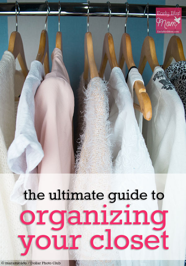 Decluttering your closet doesn't have to be a dreaded chore. Spend time working through these 5 steps and you'll feel great about the clothes you own.