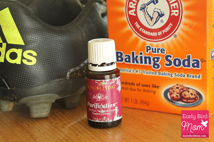 20f47b611fd How to clean smelly shoes