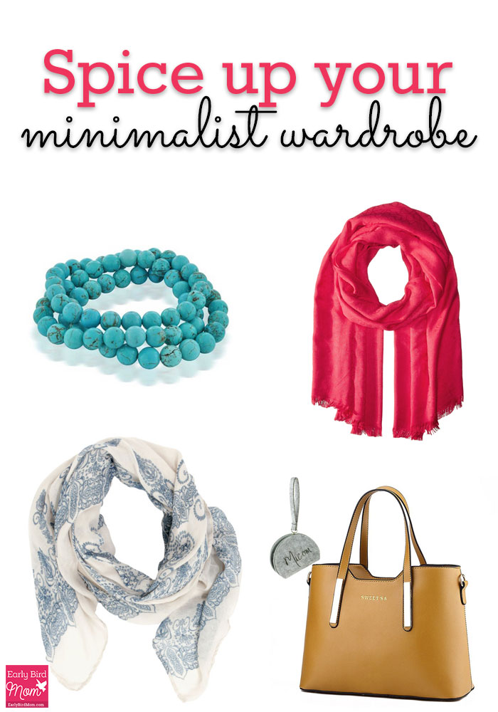 A minimalist wardrobe doesn't mean boring. Spice things up with inspiration from these 15 cute accessories!
