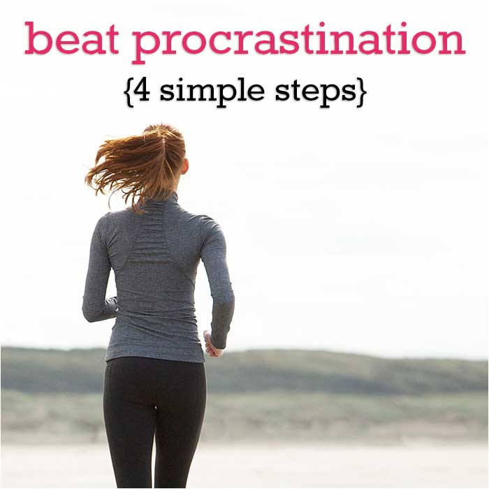 4 steps to beating procrastination and doing hard things