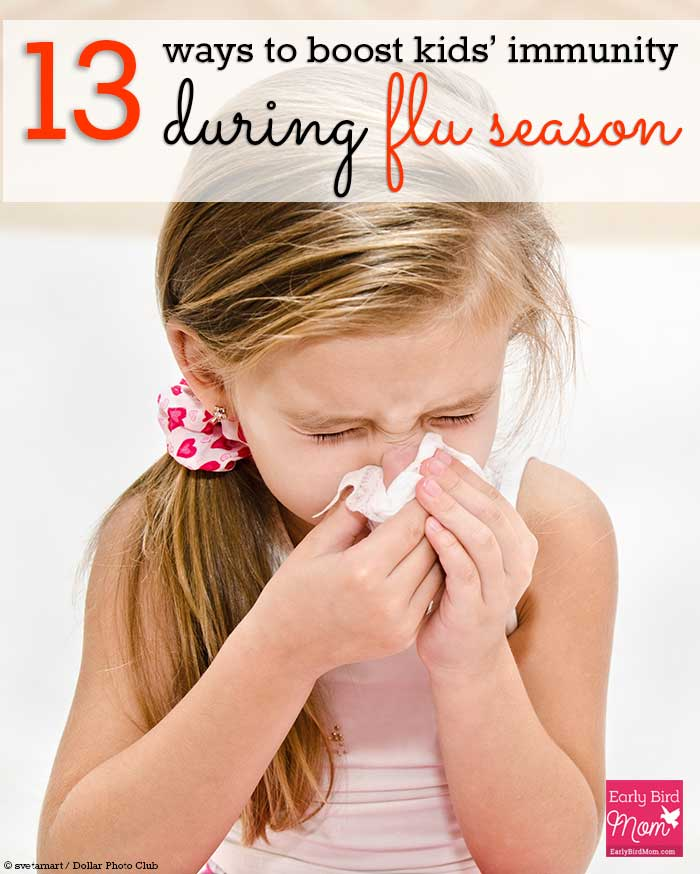 Do you dread the coming of winter and the flu season? Arm yourself with this list of simple measures to take when you want to encourage a naturally healthy immune system for your family.