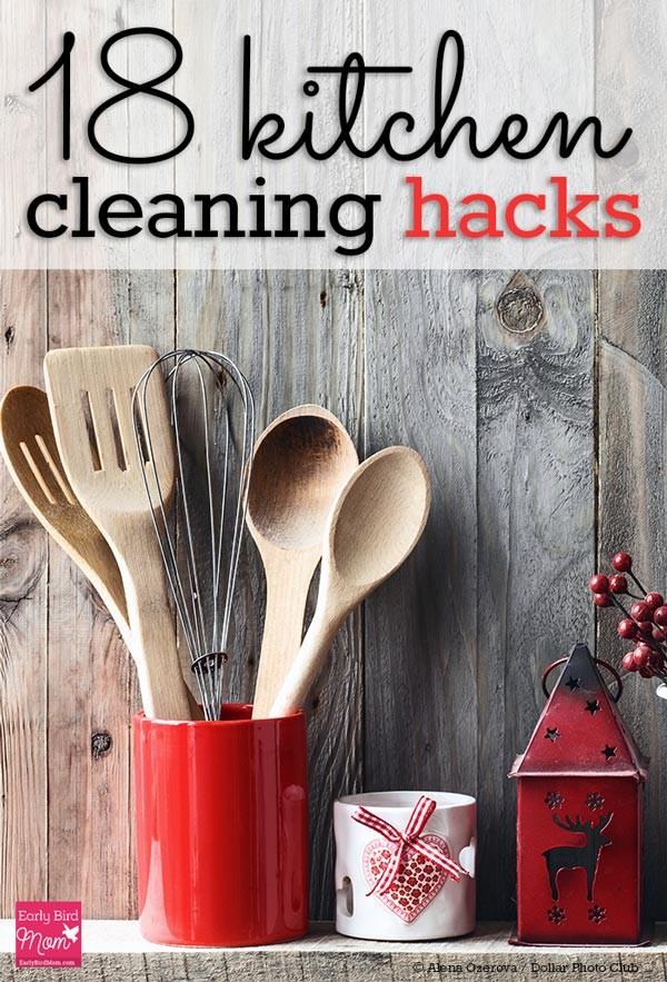 18 kitchen cleaning hacks to make your life easier