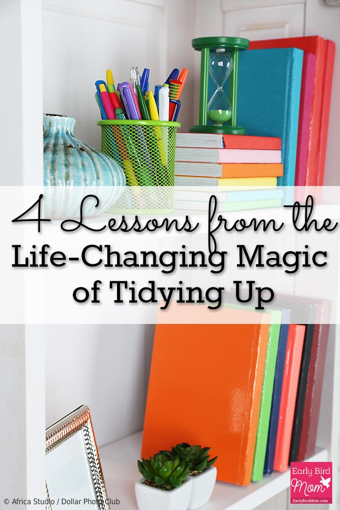 Looking to declutter your home? The Life-changing Magic of Tidying Up is THE book to help you declutter. Come and read my top 4 lessons and learn about this book that everyone's talking about.