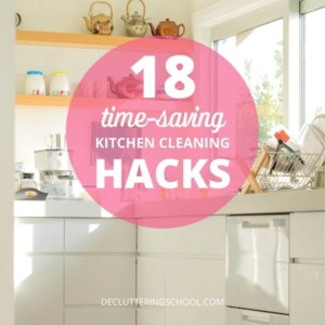 time-saving kitchen cleaning hacks cover