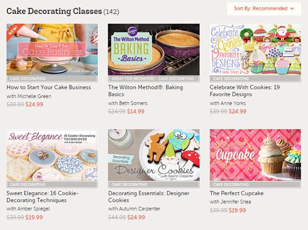 Online classes from Craftsy - just one of ten gift ideas that are sure to please anyone on your Christmas shopping list.
