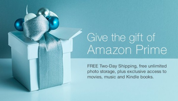 Amazon Prime membership subscription - just one of ten gift ideas that are sure to please anyone on your Christmas shopping list. Adults and kids alike!