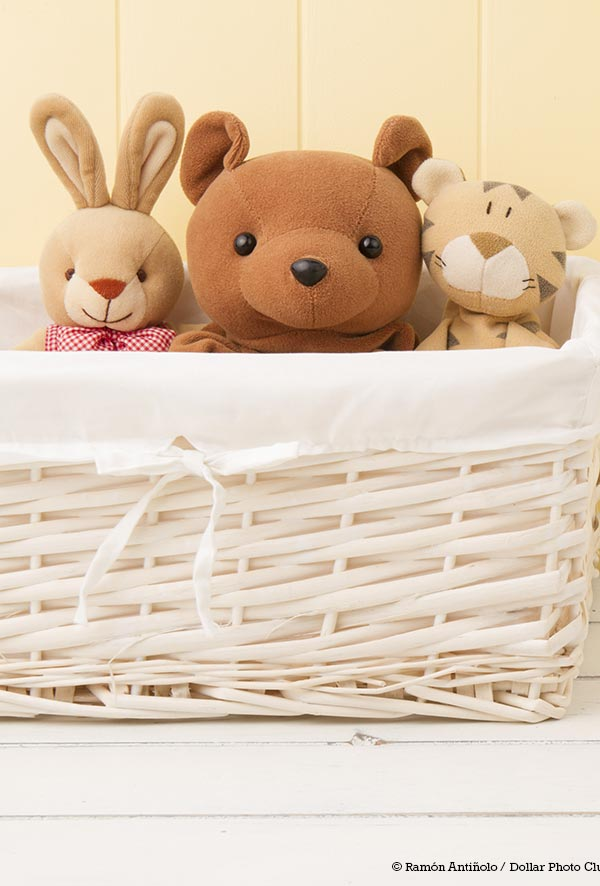 Decluttering toys is a wonderful way to make a home more peaceful and pleasant for everyone. Follow this simple 5 step process for an easy, painless way to declutter toys. Your child's bedroom or playroom will look 1,000 times better! All you'll need is a couple boxes or laundry baskets and at least 15 minutes. Use these simple tips to help your children learn to cleanup after themselves and identify their favorite toys. A clutter free home is within your reach!