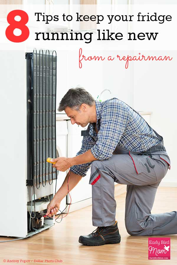 Is your fridge running a little too hot? Wondering what that funny noise is in the dishwasher? If your appliances aren't running like new, check out these tips from a Sears HouseExperts repairman! #Ad
