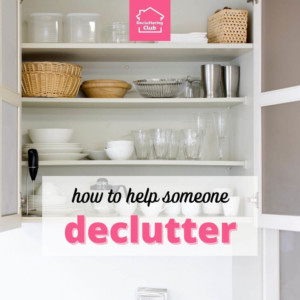 how to help someone declutter cover
