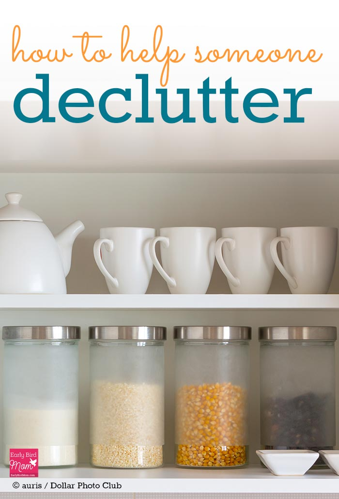 Decluttering with a friend is a great way to do an task that many people dread. But if you're thinking of helping a friend declutter and organize her home, make sure to do it the right way. Follow these simple tips and ask these 6 questions as you work.