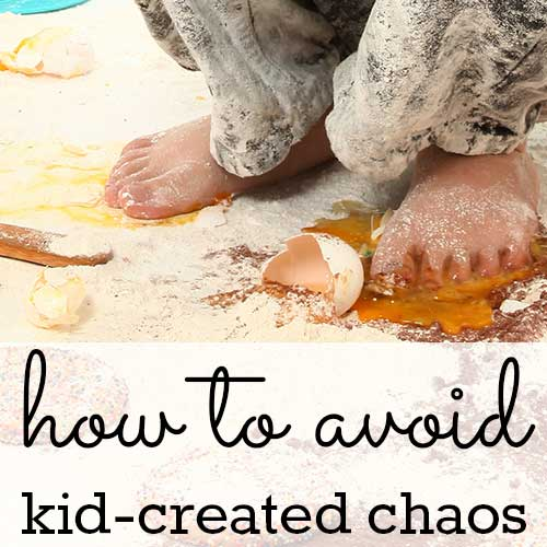 6 rules that prevent kid-created chaos