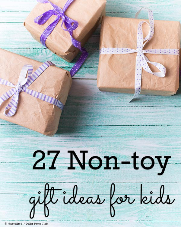Need a birthday or Christmas gift for a kid but don't want to add to the clutter in the house? You'll find plenty of creative and fun gift ideas that any boy or girl would enjoy without adding more toys to the family.