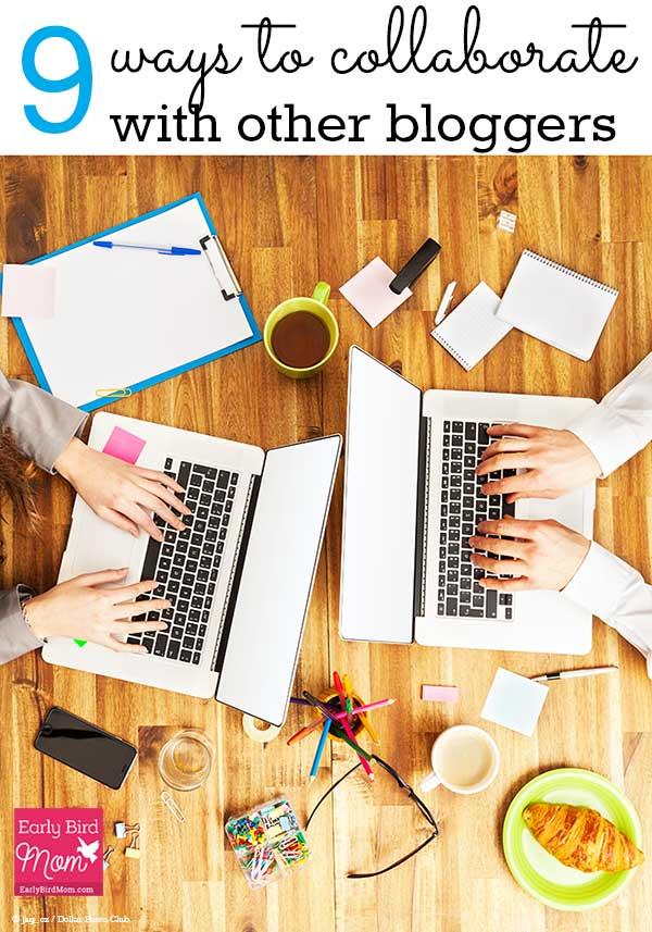 How to work with other bloggers to grow your blog, build relationships and gain opportunities.