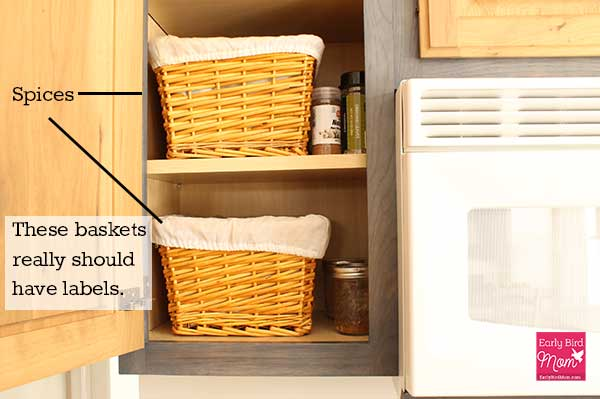 Simple Kitchen Organization