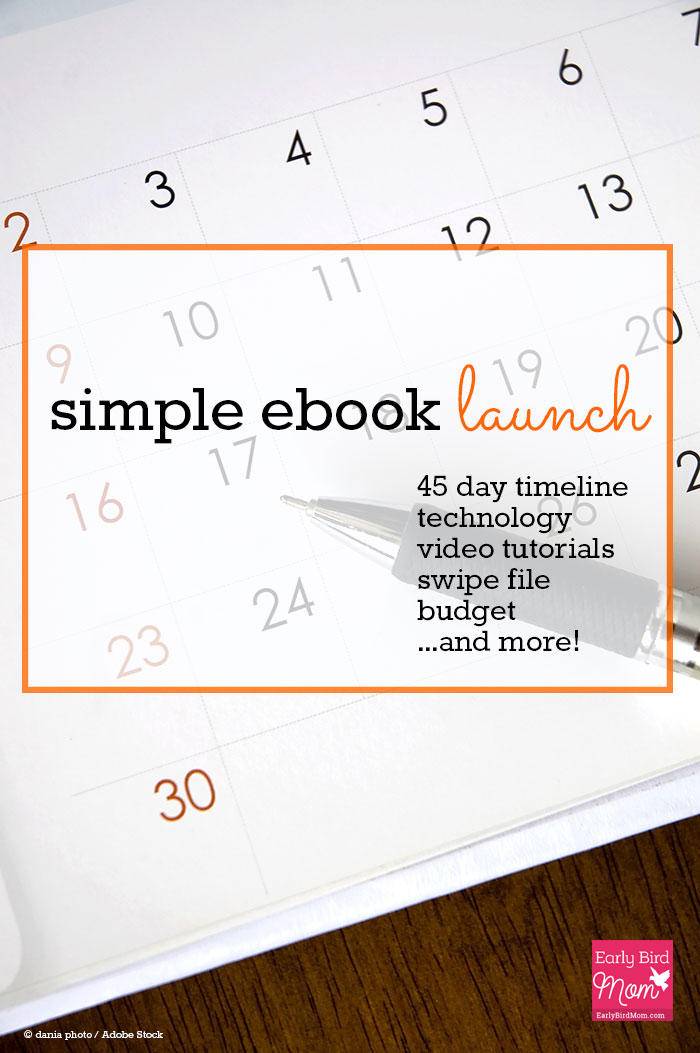 If you're thinking about how to write your first ebook, this free collection of resources for bloggers is for you! Learn how to write an ebook quickly, how to sell your ebook, a 45 day timeline and launch schedule, how to validate your idea before you write and an easy way to design an ebook cover. The videos alone are super helpful!